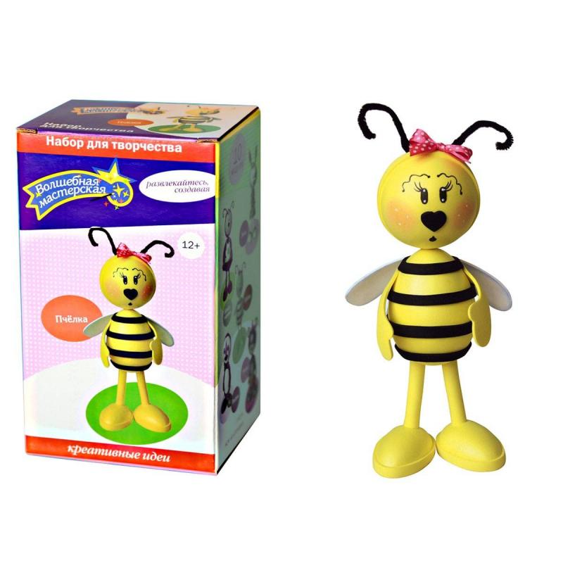 Волшебная мастерская Набор для творчества Создай куклу Пчелка наборы для творчества волшебная мастерская набор для творчества создай куклу божья коровка