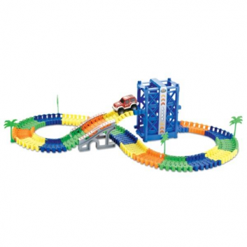 Игрушки, Конструктор Большое путешествие 128 деталей 1Toy 683166, фото