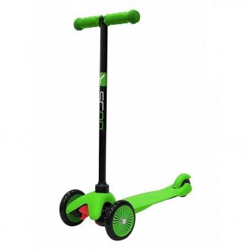 Спорт и отдых, Самокат Mini A5 Simple Y-SCOO (зеленый)611448, фото