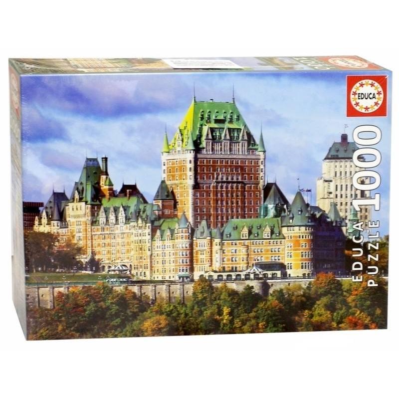 Educa Пазл Замок Фронтенак Квебек 1000 деталей пазл замок хоэншвангау 2000 деталей 27053