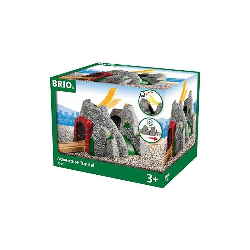 BRIO Игровой элемент Туннель в горе для деревянной железной дороги
