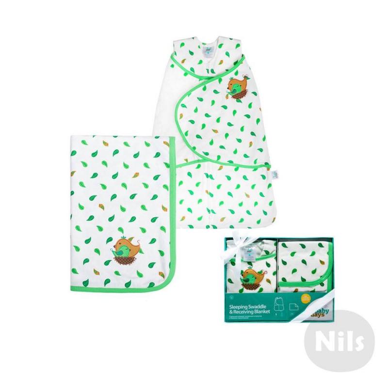 Babydays Комплект спальный конверт и пелёнка