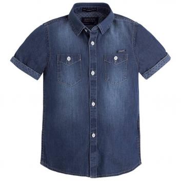 Мальчики, Рубашка MAYORAL (темносиний)421916, фото