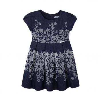 Девочки, Платье MAYORAL (темносиний)422011, фото
