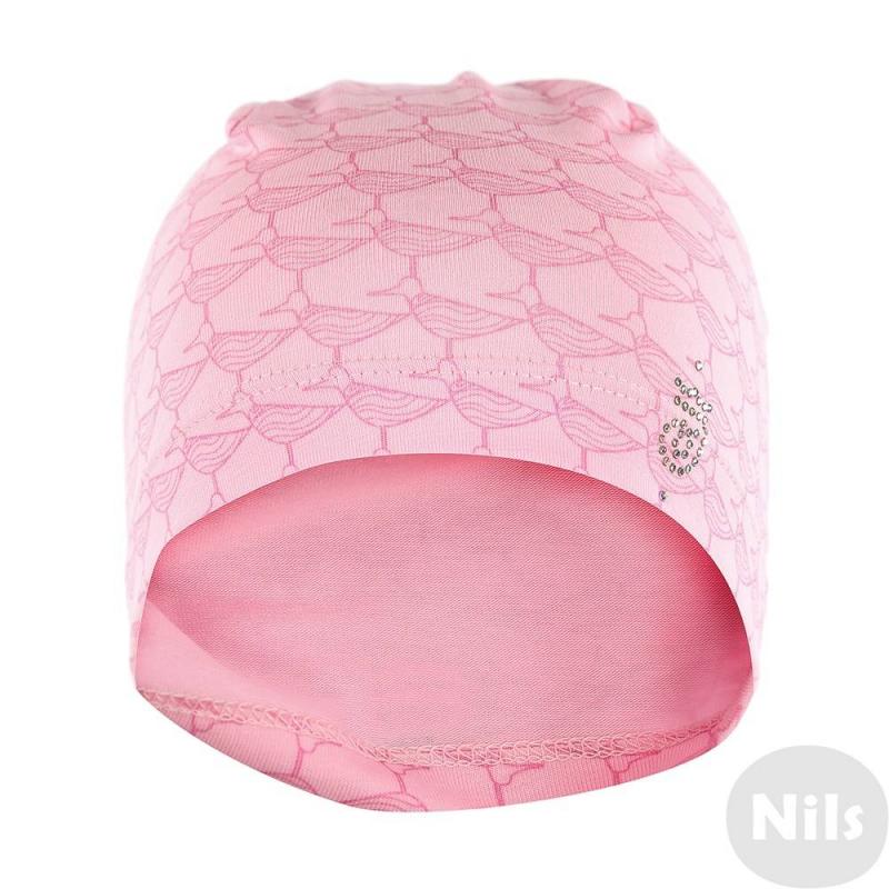 ШапкаЛегкая шапка от брендаJACOTE. Шапочка розовогоцвета с интересным птичьим принтом отлично подойдет для весеннего гардероба девочки. Шапка украшена фирменным логотипом JACOTE.<br><br>Размер: 2 года<br>Цвет: Розовый<br>Размер: 46-48<br>Пол: Для девочки<br>Артикул: 610142<br>Страна производитель: Россия<br>Сезон: Весна/Лето<br>Состав: 95% Хлопок, 5% Эластан<br>Бренд: Россия