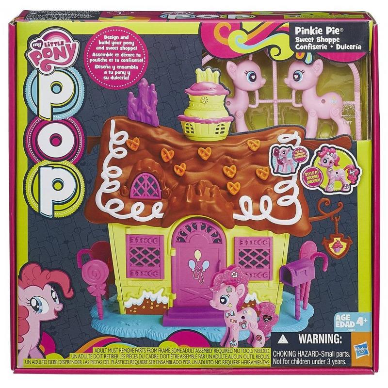 HASBRO Пряничный домик My Little Pony hasbro hasbro my little pony игровой набор поезд дружбы