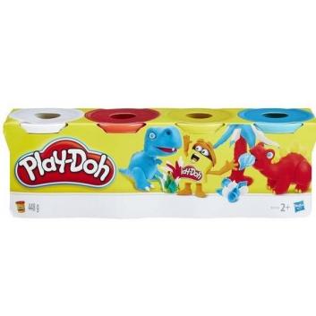 Ликвидация, Набор пластилина 4 баночки Play-Doh 429350, фото