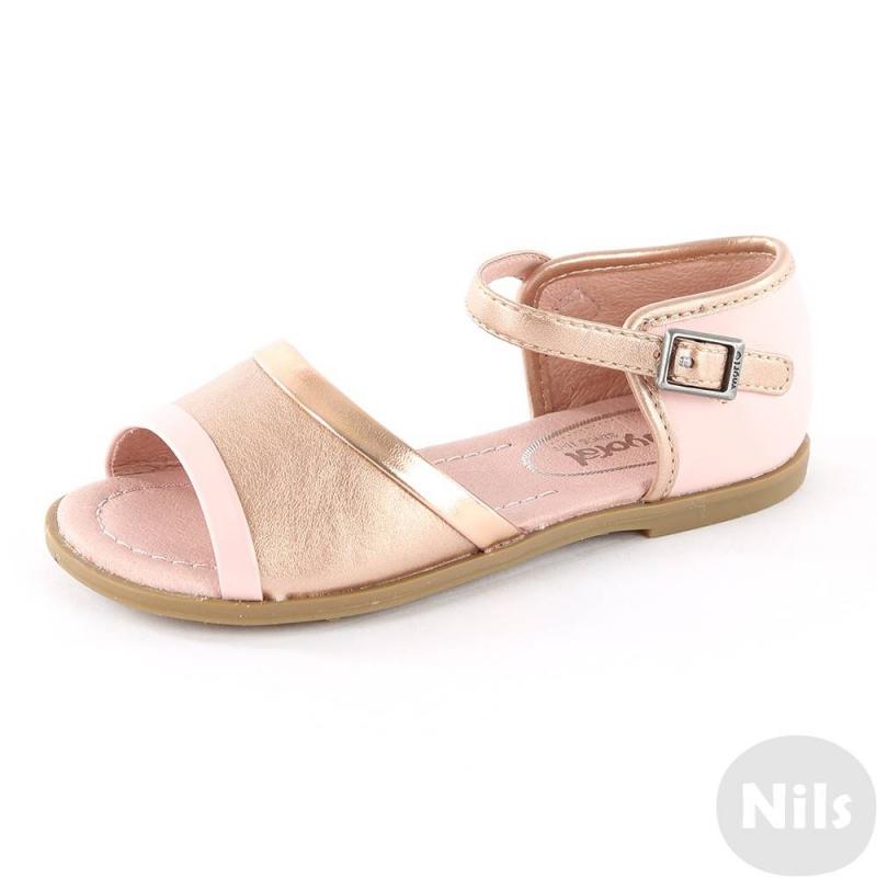 СандалииСандалии розовогоцвета марки Mayoral для девочек. Летние сандалии выполнены из искусственной кожи, подкладка - из мягкой натуральной кожи. Сандалии украшены вставками и ремешками серебристого цвета. Подошва сделана из прочной термопластичной резины.<br><br>Размер: 28<br>Цвет: Розовый<br>Пол: Для девочки<br>Артикул: 610226<br>Бренд: Испания<br>Страна производитель: Вьетнам<br>Сезон: Весна/Лето<br>Материал верха: Искусственная кожа<br>Материал подкладки: Натуральная кожа<br>Материал стельки: Натуральная кожа<br>Материал подошвы: ТПР (термопластичная резина)