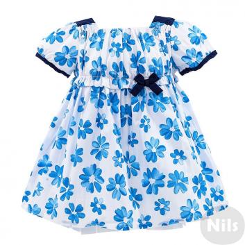 Девочки, Платье MINIBANDA (голубой)611267, фото