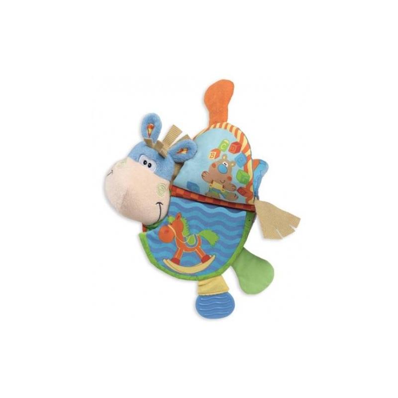 Купить Книжка Ослик Клип-Клоп, Playgro, от 6 месяцев, Не указан, 611092, Китай