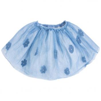 Девочки, Юбка MAYORAL (голубой)427095, фото