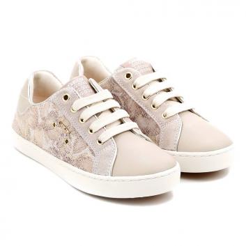 Обувь, Кеды GEOX (бежевый)422657, фото