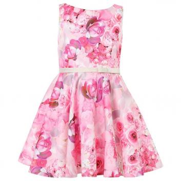 Девочки, Платье Fansy Way (малиновый)436151, фото