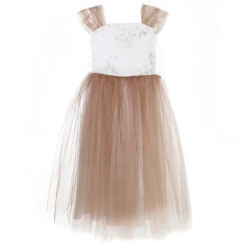 Девочки, Платье Fansy Way (бежевый)436152, фото