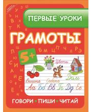 Развивающая книга Первые уроки грамоты