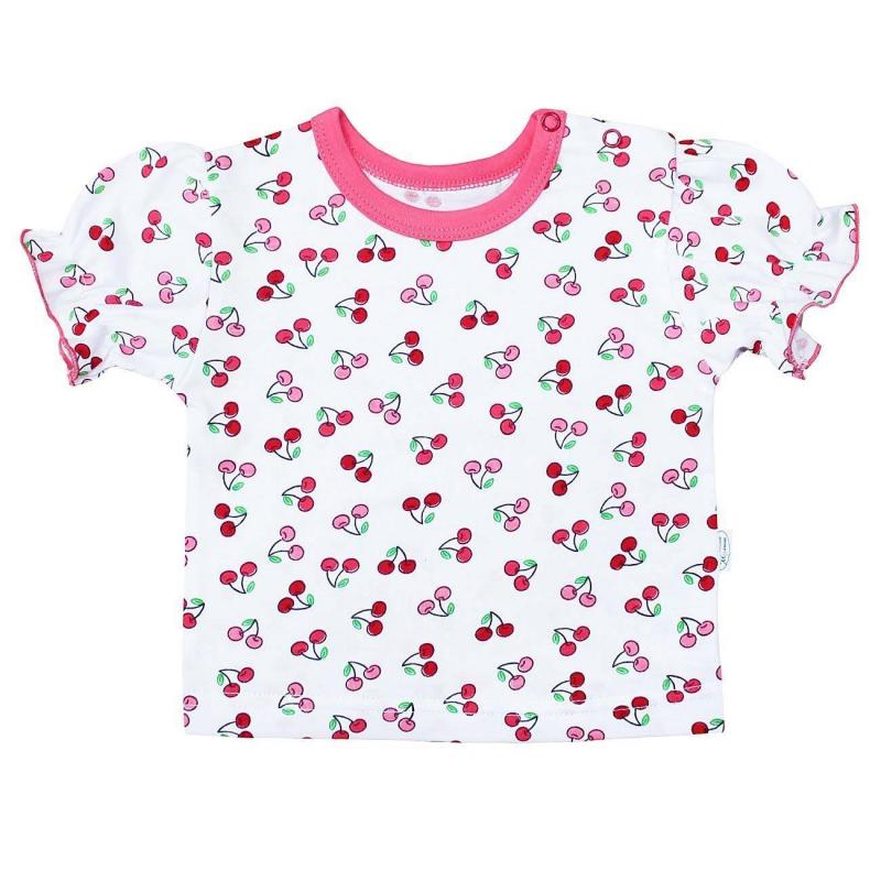 Веселый малыш Футболка футболки и топы веселый малыш футболка вишенки 69172