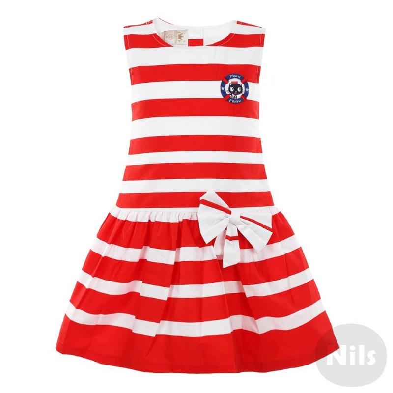 Платья для девочек в полоску