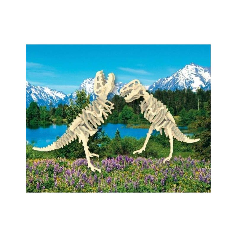 Мир деревянных игрушек Сборная модель Тиранозавр 2в1 игрушка мир деревянных игрушек лабиринт слон д345