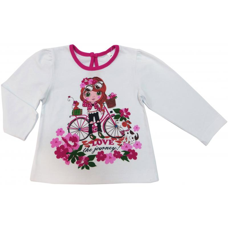 Soni Kids Футболка с длинным рукавом soni kids футболка с длинным рукавом для девочки soni kids