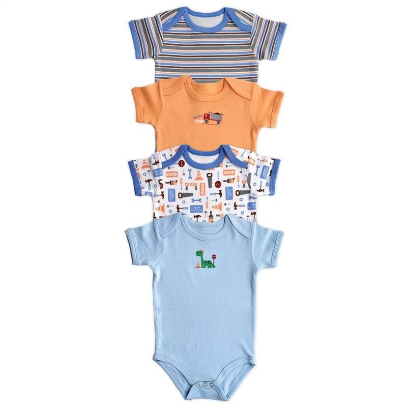 Комплект боди, 4 шт.Комплект боди от известного американского брендаLuvable Friends.Боди премиум-коллекции из облегчённого 100% хлопка – ещё более мягкие и нежные для кожи малыша. Боди – это основной предмет в гардеробе любого новорождённого. Эти боди настолько удобные, что их можно использовать как в сочетании с другими предметами гардероба, так и самостоятельно. Цельный крой способствует более лёгкому надеванию. Кнопочная застёжка снизу позволяет легко и быстро менять подгузник.<br><br>Размер: 6 месяцев<br>Цвет: Голубой<br>Рост: 68<br>Пол: Для мальчика<br>Артикул: 611381<br>Страна производитель: Индия<br>Сезон: Всесезонный<br>Состав: 100% Хлопок<br>Бренд: США
