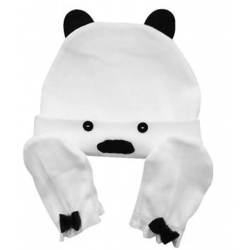 Малыши, Комплект шапочка и рукавички-антицарапки Uviton (белый)433456, фото