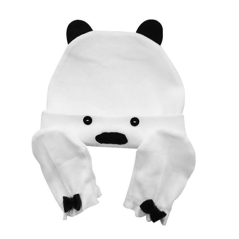 Uviton Комплект шапочка и рукавички-антицарапки шапочки и чепчики uviton набор шапочка и царапки bear