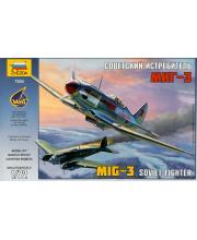 Модель для склеивания Самолет Миг-3 ZVEZDA