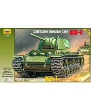 Модель для склеивания Советский танк КВ-1 ZVEZDA