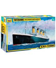 Модель для склеивания Пассажирский лайнер Титаник ZVEZDA