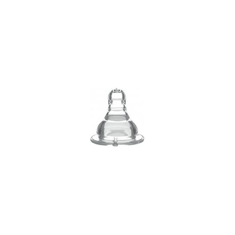 BabyOno Соска для бутылочек с широким горлышком быстрый поток соска для бутылочек pigeon перистальтик плюс с широким горлом отверстие m с 3 мес