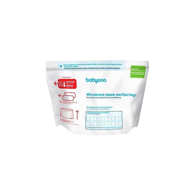 Пакеты для стерилизации в микроволновой печи 5 шт от Nils