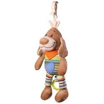 Игрушки, Музыкальная игрушка-подвеска Собачка BabyOno 433639, фото