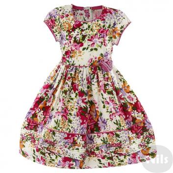 Девочки, Платье LP Collection (малиновый)611541, фото