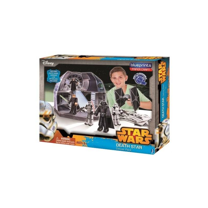 Jazwares Конструктор из бумаги Star Wars Death Star lepin 05035 star wars death star limited edition model building kit millenniums blocks puzzle compatible legoed 75159