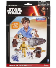Конструктор из бумаги Star Wars Droids on Tatooine