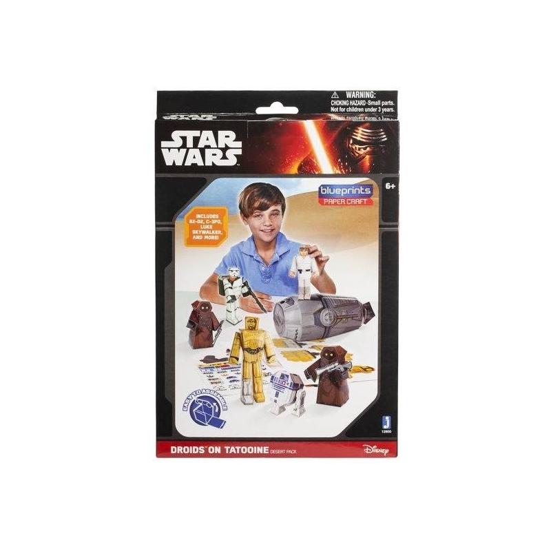 Jazwares Конструктор из бумаги Star Wars Droids on Tatooine