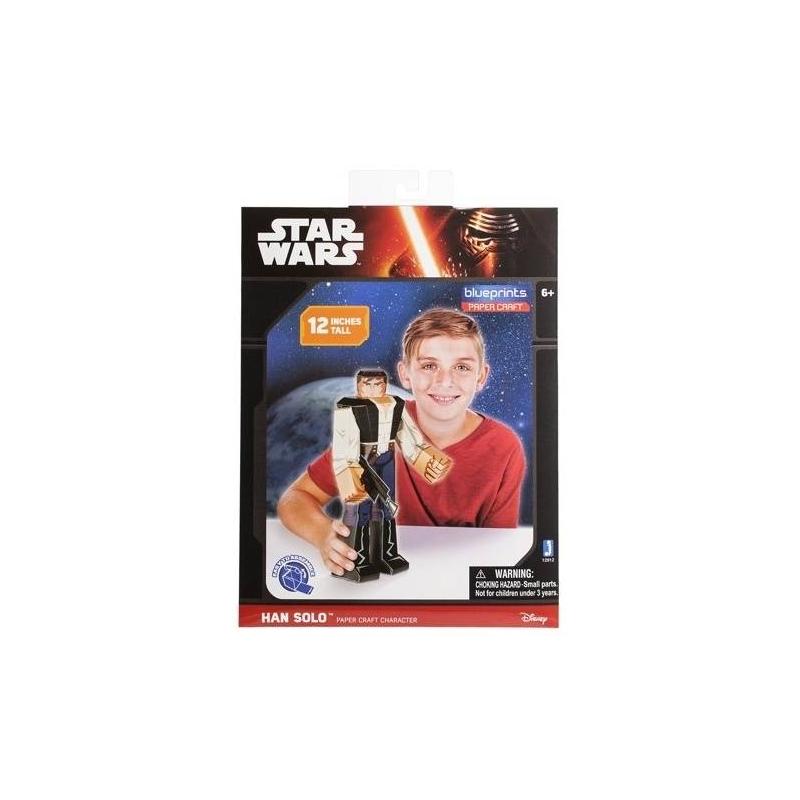 Jazwares Конструктор из бумаги Star Wars Han Solo