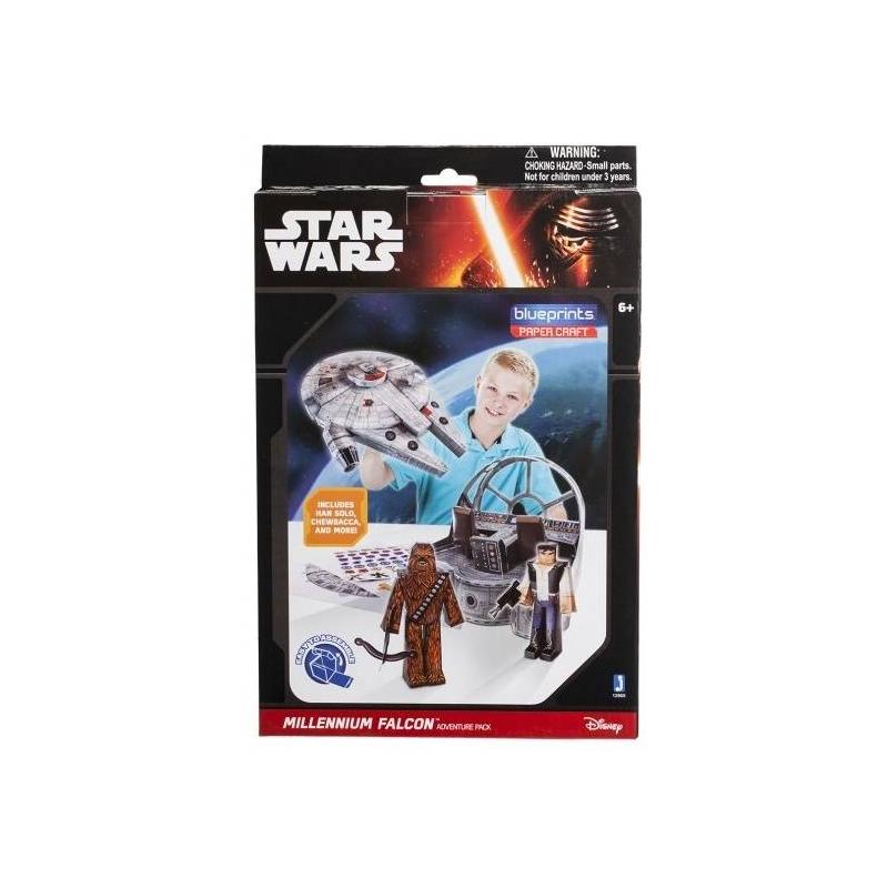 Jazwares Конструктор из бумаги Star Wars Millenium Falcon