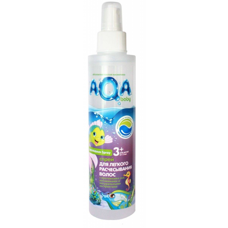 AQA Baby Спрей для легкого расчесывания волос 200 мл kerastase молочко для окрашенных волос хрома каптив kerastase reflection chroma captive e0848901 200 мл