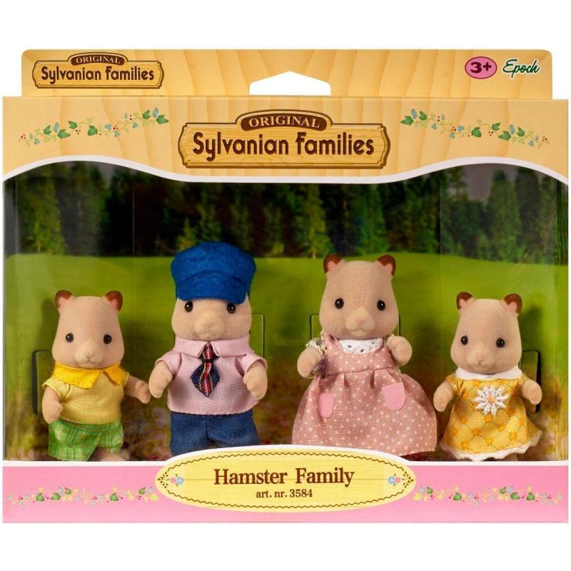 Sylvanian Families Семья Хомяков sylvanian families sylvanian families игровой набор семья кошек