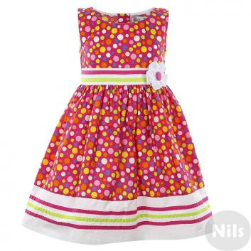 Девочки, Платье LP Collection (малиновый)611482, фото