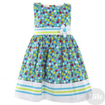 Девочки, Платье LP Collection (голубой)611479, фото