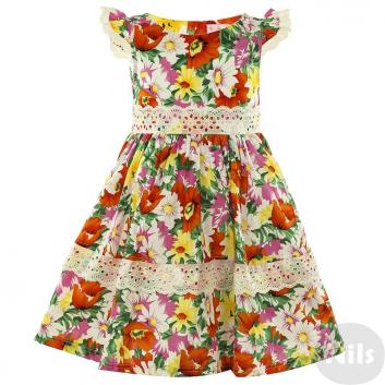 Девочки, Платье LP Collection (оранжевый)611559, фото