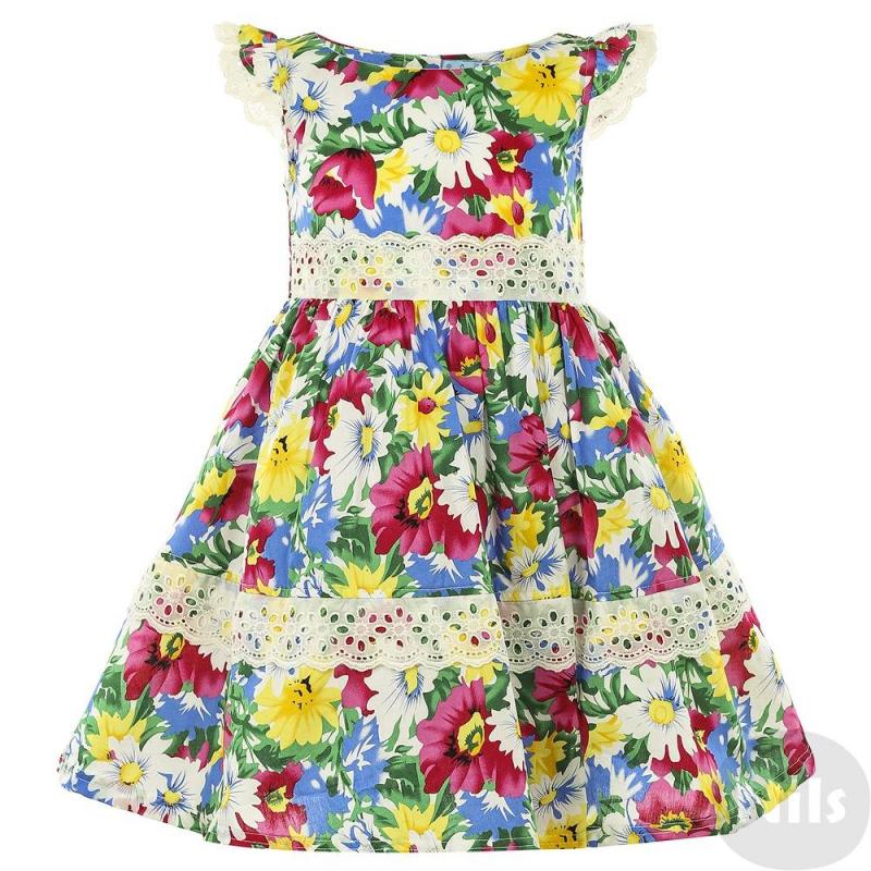 Летнее платье девочке