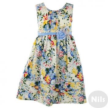 Девочки, Платье LP Collection (голубой)611551, фото