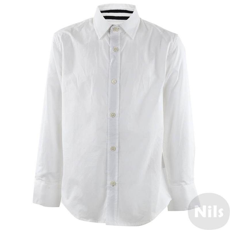 РубашкаРубашкабелогоцвета марки ANTONY MORATO для мальчиков. Классическая однотоннаябелая рубашка с длинным рукавом выполнена из чистого хлопка, застегивается на пуговицы.<br><br>Размер: 6 лет<br>Цвет: Белый<br>Рост: 116<br>Пол: Для мальчика<br>Артикул: 611864<br>Страна производитель: Китай<br>Сезон: Весна/Лето<br>Состав: 100% Хлопок<br>Бренд: Италия<br>Вид застежки: Пуговицы