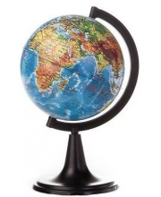 Физический глобус 120 мм