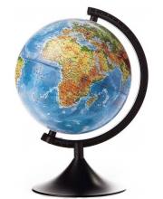 Физический глобус 210 мм