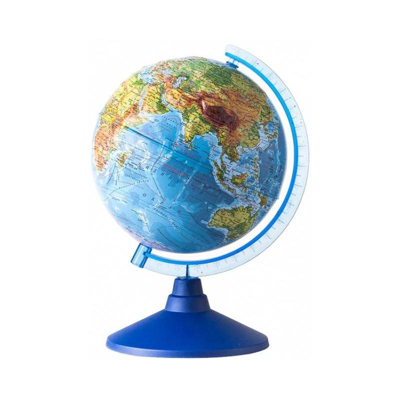 Физический рельефный глобус 320 мм