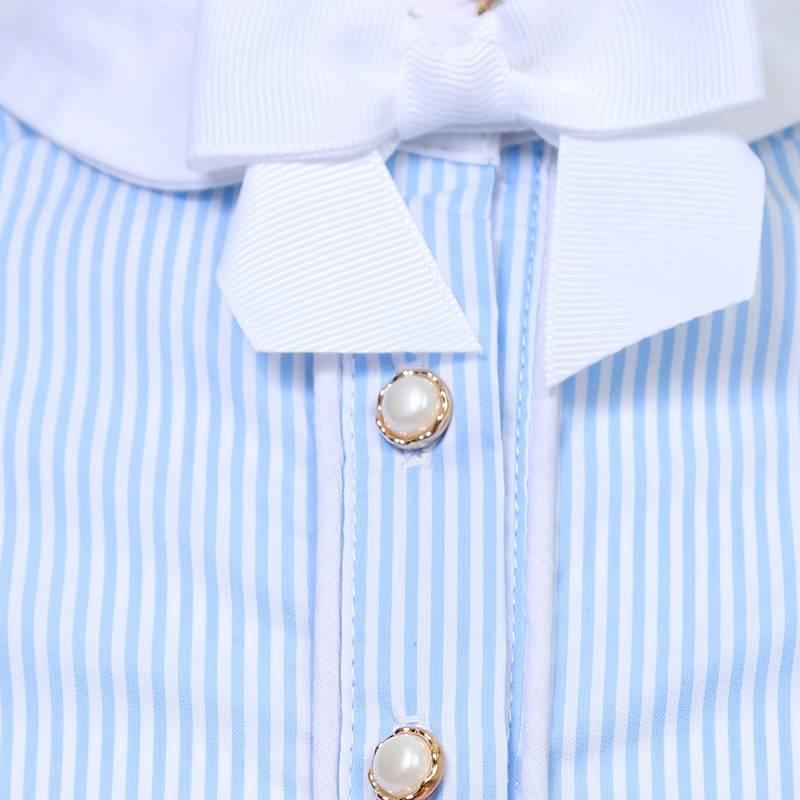Блузка голубого цвета купить